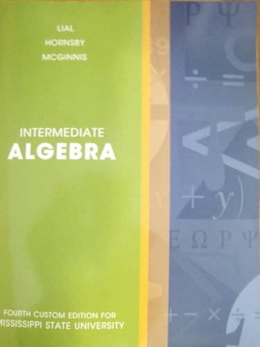 9781256287308: Intermediate Algebra (Taken from: Intermediate Algebra, Eleventh Edition)