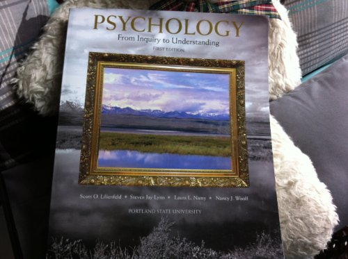 9781256287797: Psychology: From Inquiry to Understanding