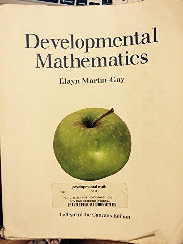 developmental mathematics elayn martin gay