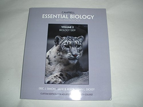 9781256288671: Essential Biology with Physiology (Biology 1309 Houston Community College)