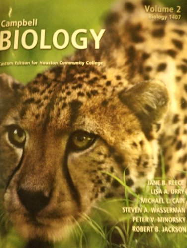 9781256288701: Campbell Biology Custom Edition for Houston Community College (Biology 1407, Volume 2)