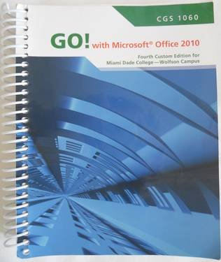 9781256291459: GO MS.OFFICE 2010 INTRO.>CUST
