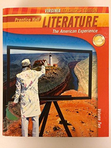 9781256291879: Prentice Hall Literature: The American Experience. Virginia Teacher's Ed.
