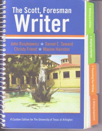 9781256291930: The Scott Foresman Writer UTA Edition