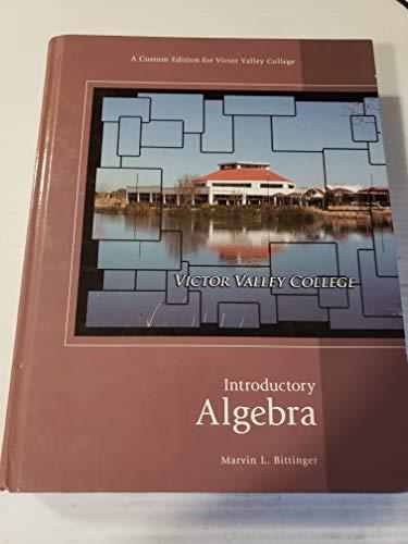 9781256294016: Introductory Algebra, 1/e