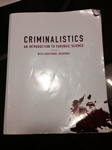 9781256295594: Criminalistics (11th edition)
