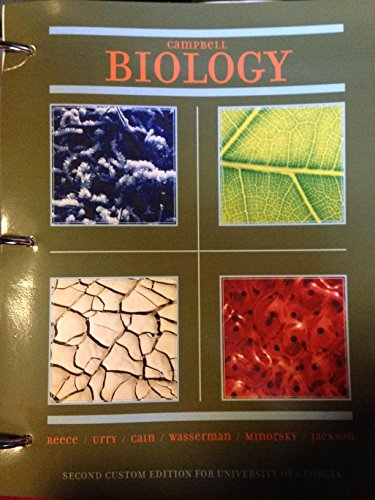 9781256299721: Campbell Biology: Second Custom Edition for University of Georgia
