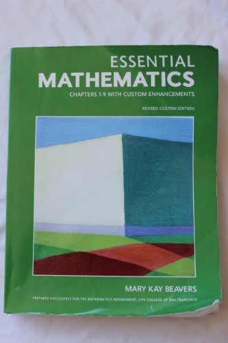 9781256301943: Essential Mathematics Chapters 1-9