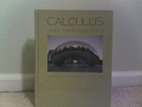 9781256308324: Calculus Early Transcendentals (Campus Edition for University of Illinois, Chicago) (Campus Chicago, Campus Edition for University of Illinois, Chicago)