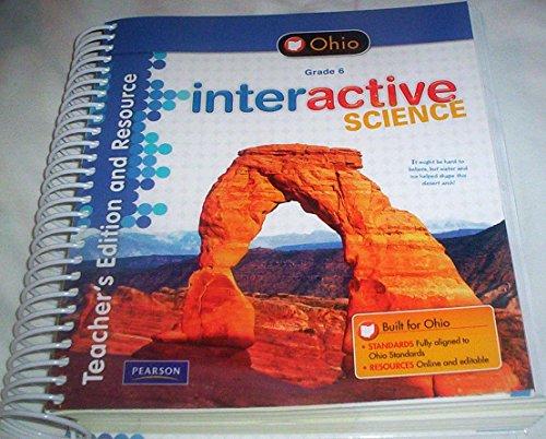 9781256309369: Interactive Science Grade Six Ohio Custom Edition Pearson (Prentice Hall)