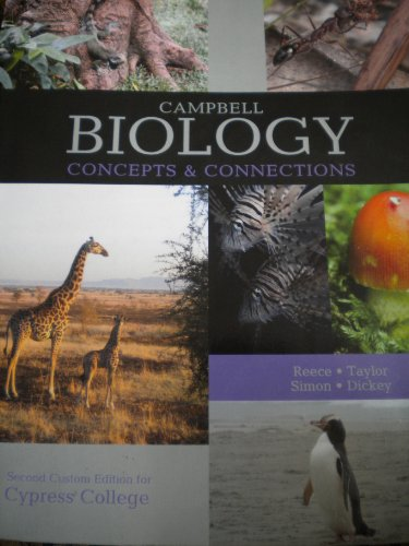 9781256317135: Campbell Biology Concepts & Connections 2nd Edition Cypress College
