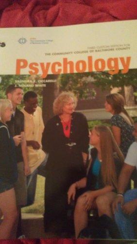 Psychology, Third Custom Edition for the Community: Saundra K. Ciccarelli,