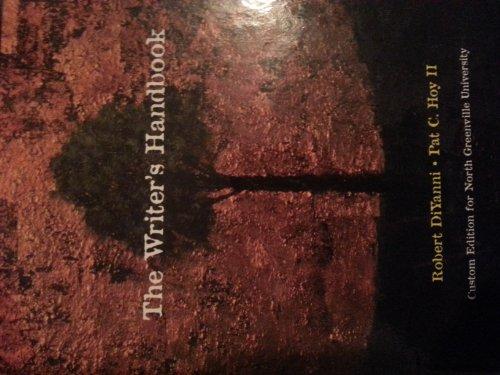 9781256320005: The Writer's Handbook (Custom Edition for North Greenville University)
