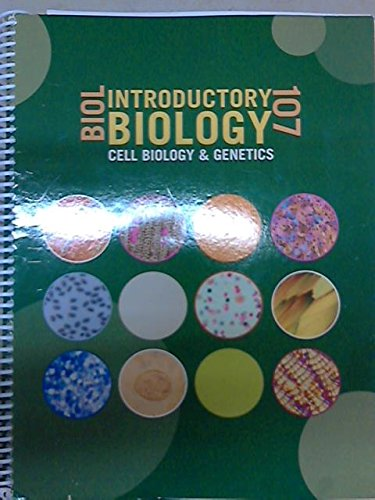 9781256321101: Cell Biology: Introduction to Biology - BIOL 107