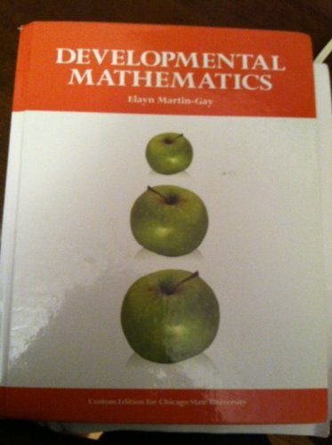 9781256324843: Developmental Mathematics (Custom Edition for Chicago State University)