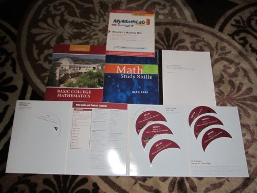 9781256328445: Glendale college Basic college Mathematics