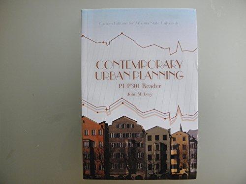 9781256331001: Contemporary Urban Planning (PUP 301 Reader)