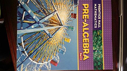 9781256331933: Prentice Hall Mathematics Pre-algebra Part 2
