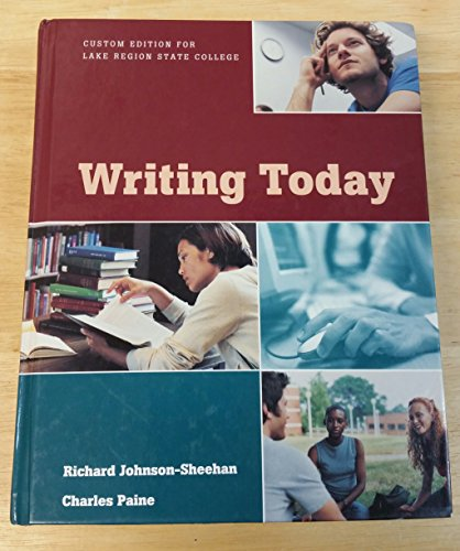 9781256336532: Writing Today