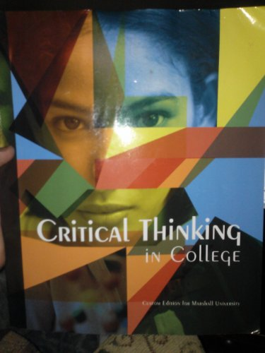 9781256338123: Critical Thinking in College (1256338125)