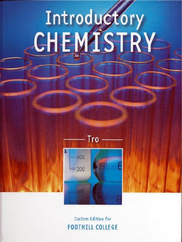 9781256342878: Introductory Chemistry (Custom Edition for Foothill College)