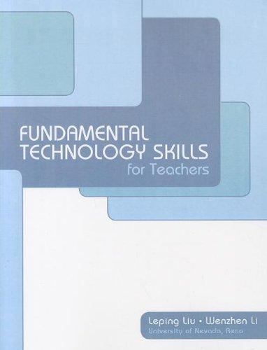 9781256348344: Fundamental Technology Skills for Teachers
