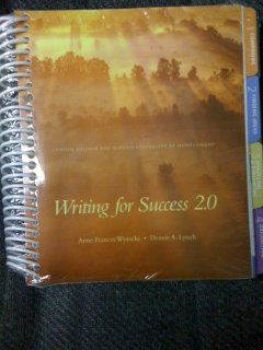 9781256348566: Writing for Success 2.0 - Custom Edition for Auburn University at Montgomery