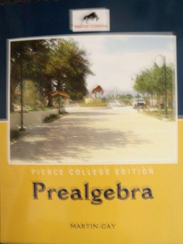9781256350514: Pierce College Edition Prealgebra