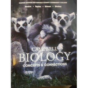 9781256356202: Campbell Biology: Concepts & Connections (Custom Edition for Suffolk County Community College)