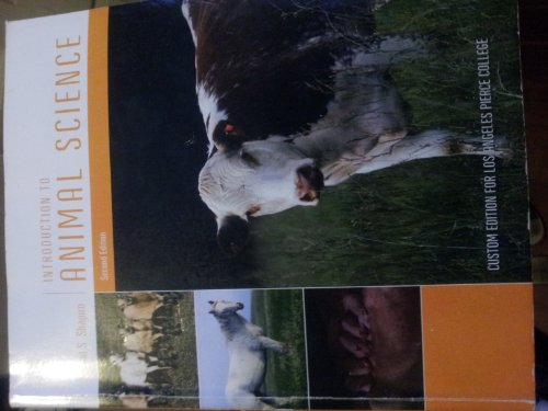 9781256356462: Introduction to Animal Science