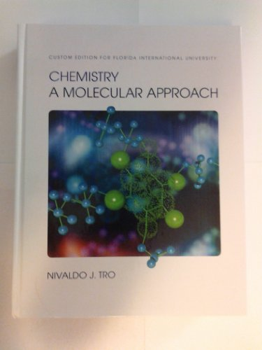 9781256359715: Chemistry a Molecular Approach. Custom Edition for Florida International University