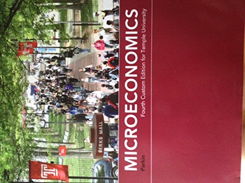 9781256361626: Microeconomics, Tenth Edition (Fourth Custom Edition for Temple University)