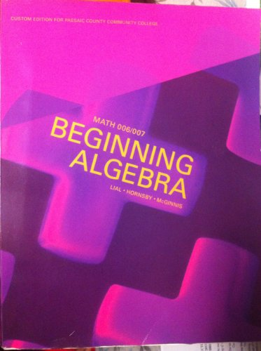9781256363064: Beginning Algebra 11th Edition