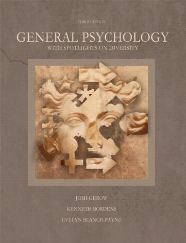9781256366720: General Psychology with Spotlights on Diversity (3rd Edition)