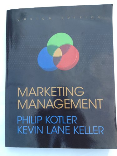 Marketing Mangement: Kevin Lane Keller