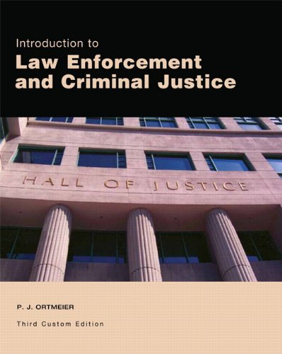 9781256399995: Introduction to Law Enforcement and Criminal Justice (3rd Edition)