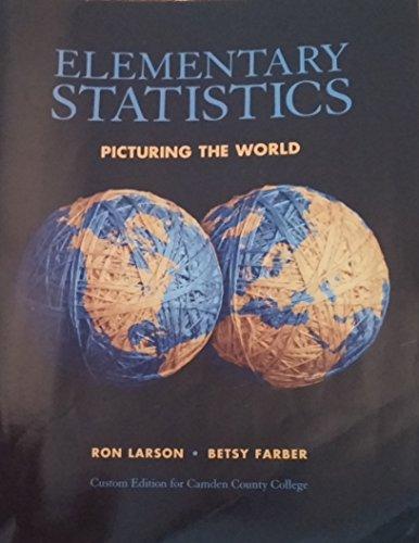 9781256401261: Title: ELEMENTARY STATISTICS-W/CD >CU