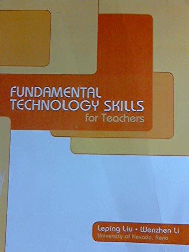 9781256409304: Fundamental Technology Skills for Teachers