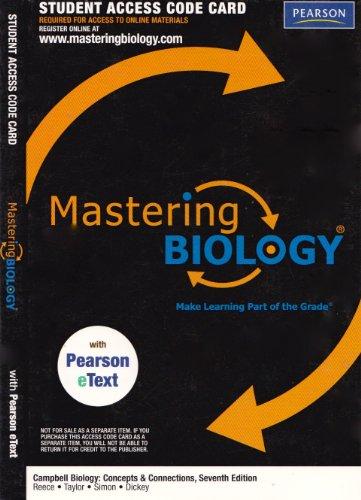 9781256411895: Mastering Biology, 7th Edition