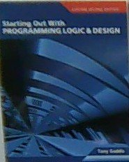 9781256416296: Starting Out with Programming Logic and Design (Custom)