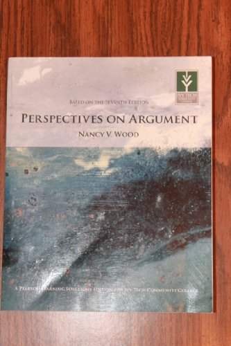 9781256424444: Perspectives on Argument (Seventh Edition)