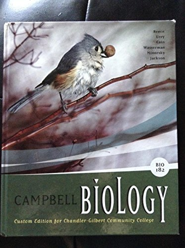 9781256426493: Campbell Biology BIO 182 Custom Edition for Chandler-Gilbert Community College