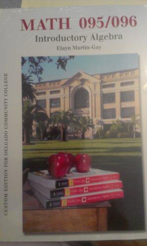 9781256427728: Introductory Algebra [4 E] (MATH 095/096) (Delgado Community College)