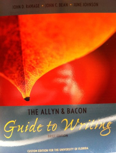 9781256428459: The Allyn & Bacon Guide to Writing, Brief Edition, Custom Edition for the University of Florida