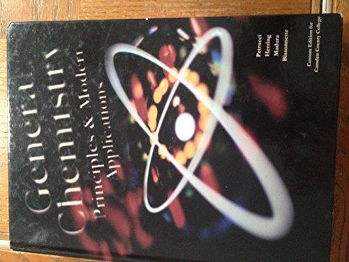 9781256429838: General Chemistry: Principles & Modern Applications