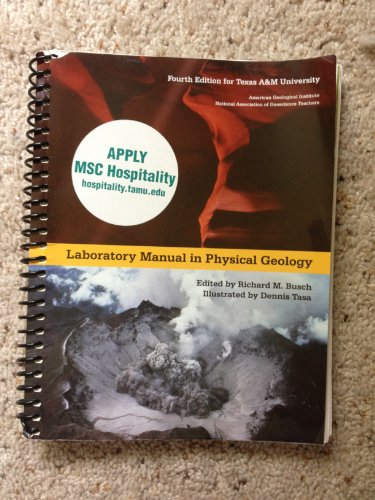 9781256431039: Laboratory Manual in Physical Geology, Fourth Edition for Texas A&M University
