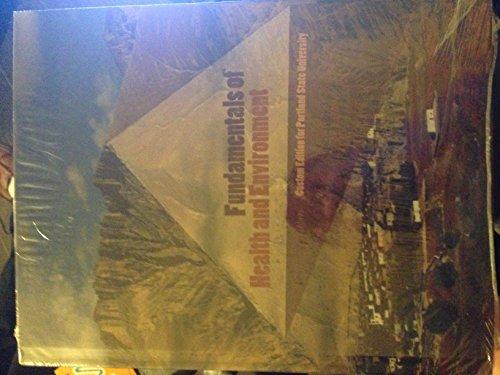 Fundamentals of Health and Environment [Custom Edition: Rebecca J. Donatelle,