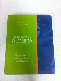 Elementary Algebra: Michael Sullivan, lll;