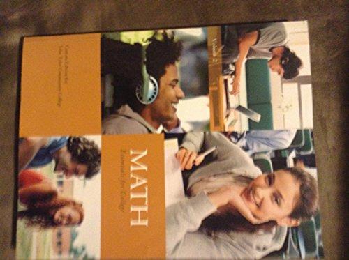 9781256436188: Math Essentials for College: Volume 2
