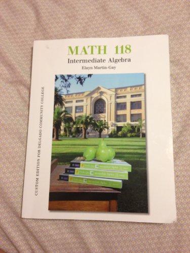 9781256436195: Intermediate Algebra
